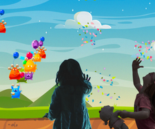 Monster Ballons interactief